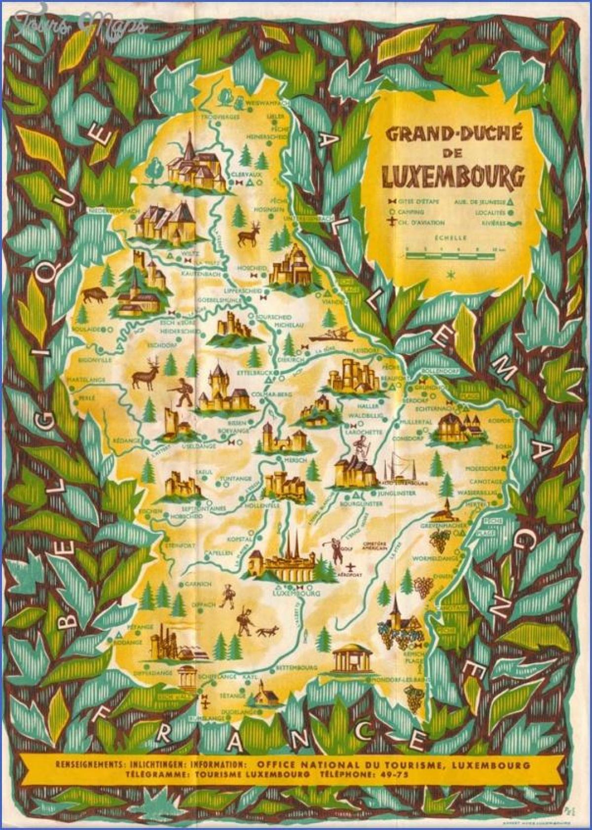 Luxembourg Sightseeing Kart Kart Over Luxembourg Sightseeing